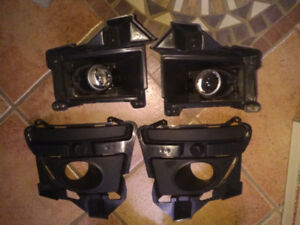 Mustang California special fog lights with mounting brackets