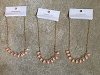 Three brand new warehouse necklaces.
