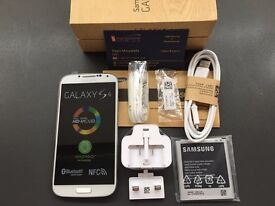 Brand new unlocked sim free Samsung Galaxy S4 LTE 4G sealed box with full new accessories