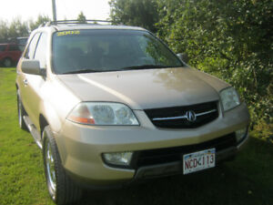 2002 Acura MDX Gold leather SUV, Crossover