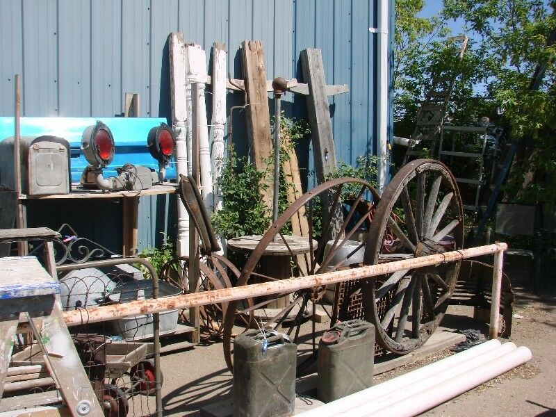 Vintage Yard And Garden Items At Rocky Mountain Antique