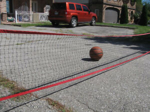 Safety Net for driveway with video