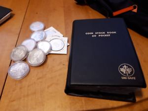 70 coins!-Large Canada Silver Coins! Priced to Sell fast!