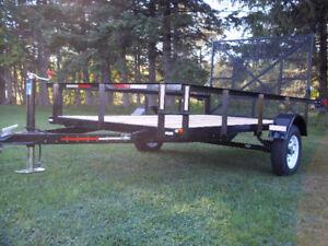 utility trailer 5 x 10  ( brand new )