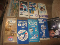 vintage old lot of Toronto Blue Jays Media guide 1977 and 1978 a