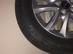 "Mazda OEM 16"" Alloy Wheels With New Tires Peterborough Peterborough Area image 2"