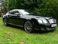 2008 BENTLEY CONTINENTAL GT SPEED MULLINER**TRIPLE BLACK**MASSAGE SEATS*NOW SOLD