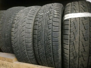 Like new 4 x 215/70R15 national summer tires pneus d'été