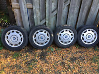 205/60-15 Original BMW wheels and winter tires. Kitchener / Waterloo Kitchener Area Preview