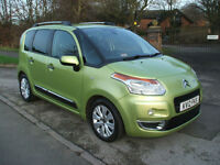 CITROEN C3 PICASSO 1.6HDi 8v EXCLUSIVE ONLY £30 PER YEAR ROAD TAX