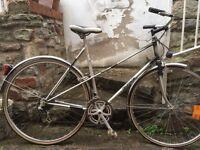 Decathlon bike, vintage road bike, rides well
