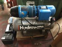 Hydrovane CompAir V01 Receiver Mounted Compressor Single Phase.