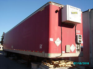 53 ft Trailer with diesel heater