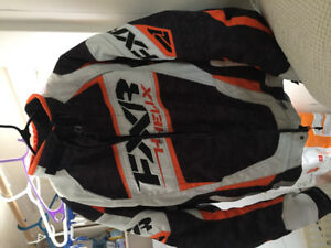 Selling fxr coat pants and helmet