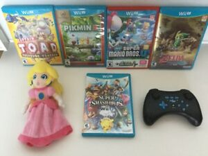 Pikmin, Manette Pro, Captain Toad, Smash Bros, Zelda..