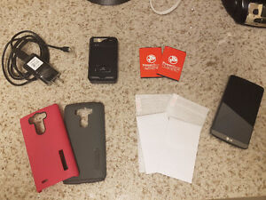 GREAT CONDITION LG G3 AND ACCESSORIES!!! 200 OBO