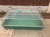 Large Indoor guniea pig or rabbit cage hutch