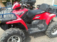 2008-700 x-2 two up atv