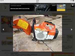 Scie à béton stihl TS 400