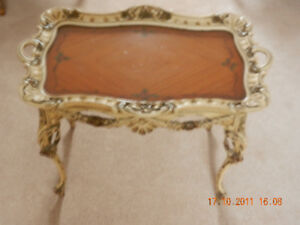 Antique Hand Carved Tea / Coffee Table