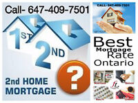 SECOND MORTGAGE?? LET US HELP!! upto 90% LTV available**