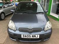 2005 Toyota Yaris 1.3 VVT-i - 1 Year MOT will be Provided - 10 Serv Stamps