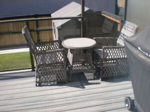 TOP QUALITY WICKER PATIO SET
