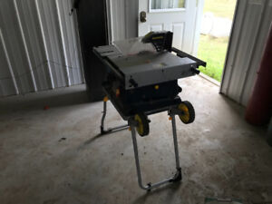 Portable table saw and chopsaw