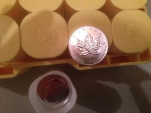 Silver Maple Leaf Coins