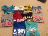 Lot of boys tshirts 4t and 5t