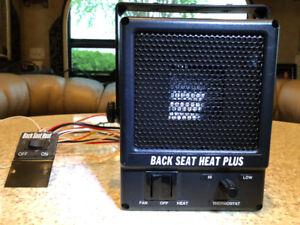 Chaufferette 12 Volt BACK SEAT HEAT PLUS pour truck, RV, Auto