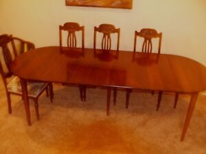 Solid Wood Dining Table Versatile Sizing From Small To Long
