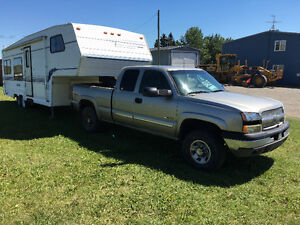 1999 vanguard 28 ft & 2003 Chevy 2500