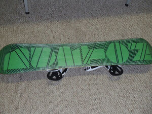 Burton Board (151cm) and Burton Bindings