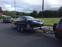 Brian James tiltbed car transporter recovery