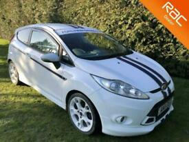 image for 2011 Ford Fiesta Ti-VCT 134 S1600 with Black heated Leather Hatchback Petrol Man