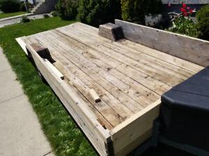 Float, utility ,  toy hauler,  landscape trailer