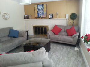 Furnished house for short term rental