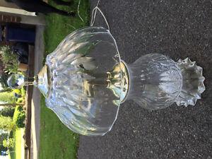 Lampes en verre / Glass lamps