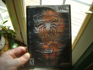 Spiderman 3 game for Wii
