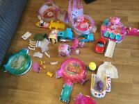 Zhu Zhu hamsters and play centers
