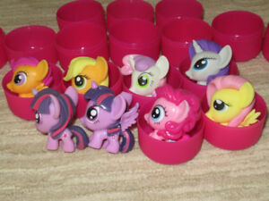 My Little Pony small/squishy Figurines