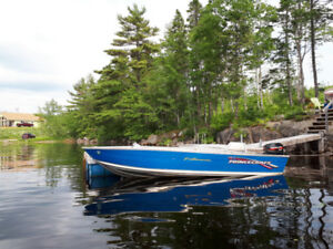 Princecraft boat , motor and trailer pkg