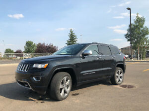 Beautifully Maintained 2015 Jeep Grand Cherokee Overland