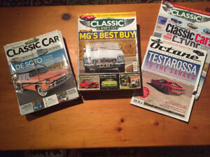 Magazines - Hemmings Classic Car and Others