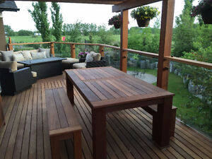 Decking and Other Exterior Hardwood Products - Best Price in YYC