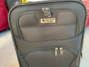 suitcase and luggage
