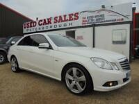 2010 60 MERCEDES-BENZ E CLASS 2.1 E220 CDI BLUEEFFICIENCY SE 4D AUTO 170 BHP DIE