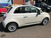 2013 Fiat 500 1.2 Lounge Hatchback 3dr Petrol Manual (s/s) (113 g/km, 69