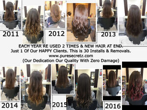 HAIR EXTENSIONS - THE BEST HAIR THE BEST INSTALLATION Peterborough Peterborough Area image 10